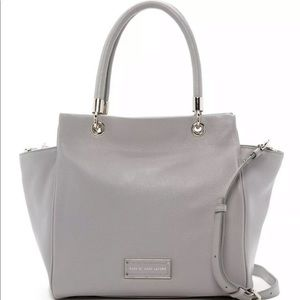 MARC BY MARC JACOBS LEATHER BENTLEY WINGED DOUBLE